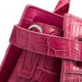 Genuine Crocodile Handbag, Crocodile Crossbody Bag-Detail