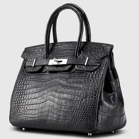 Genuine Crocodile Handbag-Left