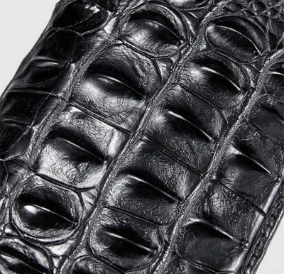 Mens Genuine Crocodile Wallet-Details