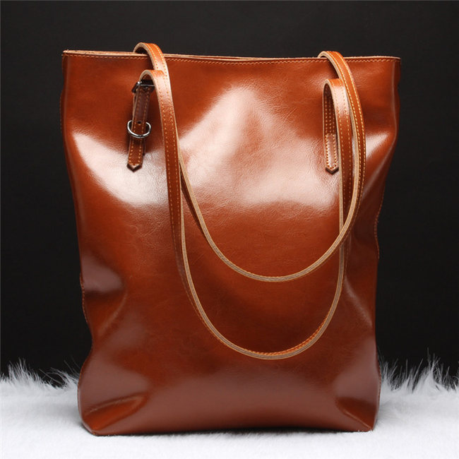 New Vintage Series Leather Tote Bags