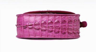 Stylish Crocodile Evening Handbag-Bottom