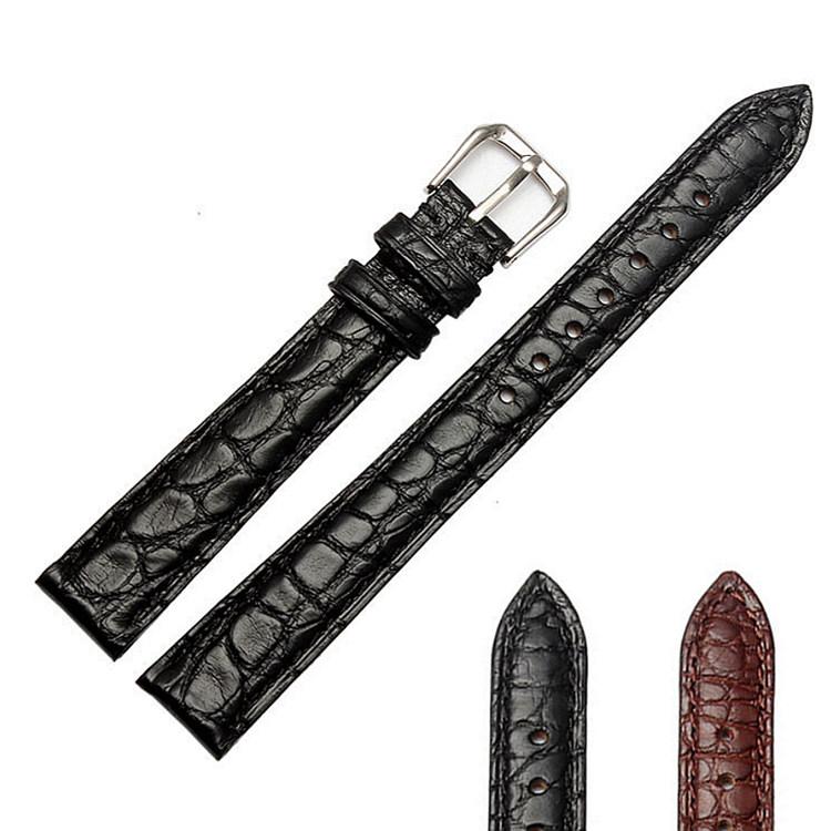 womens genuine alligator leather watch band