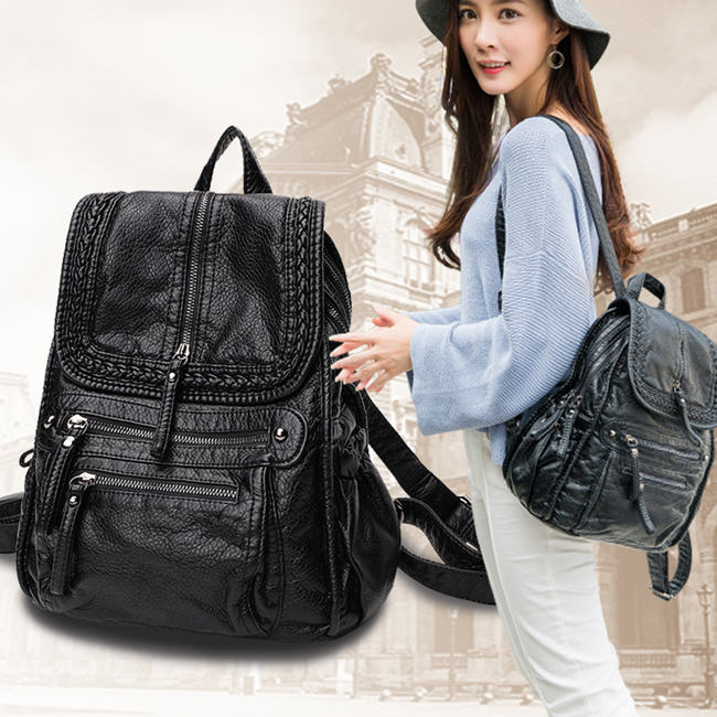 choose the backpack from the practicality
