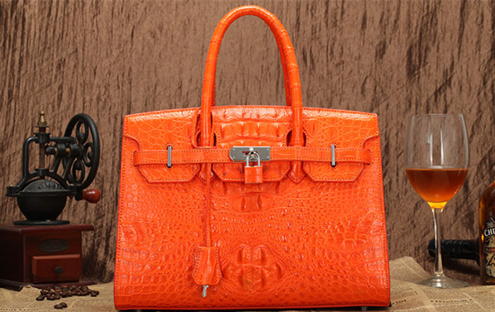 crocodile and alligator handbag