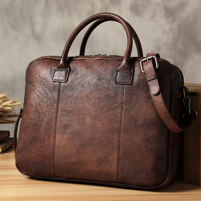 handmade leather briefcase at the right price