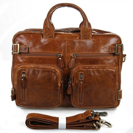 Brown Leather Briefcase Leather Backpack