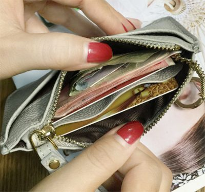 Carry fewer coins in your purse