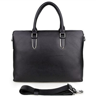 Casual Leather Briefcase, Leather Business Bag