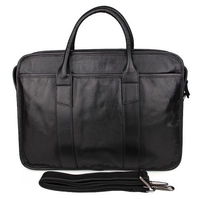 Excellent Italy leather briefcase, Leather Laptop Bag
