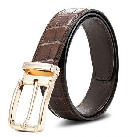 Genuine Crocodile Belt - Classic & Fashion Design