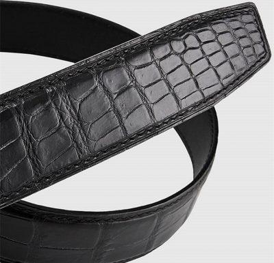 Luxury Automatic Buckle Crocodile Belt-2