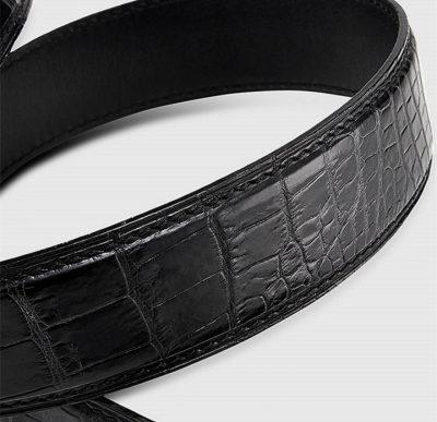 Luxury Automatic Buckle Crocodile Belt-3
