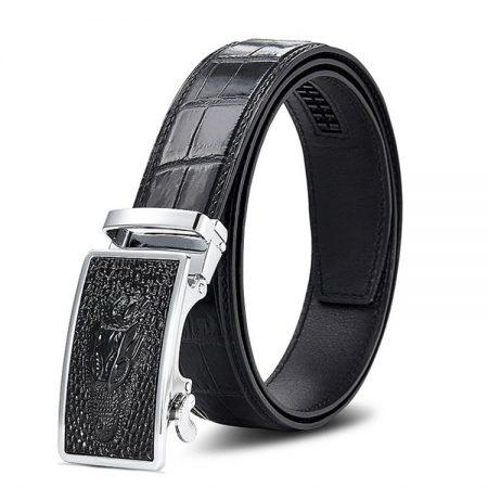 Luxury Automatic Buckle Crocodile Belt