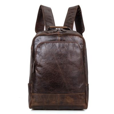 Men's Vintage Leather Backpack, Leather Rucksack