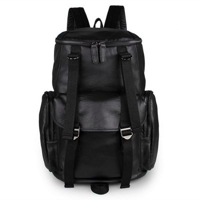 Stylish Urban Leather Backpack