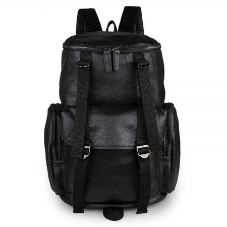 Stylish Urban Leather Backpack