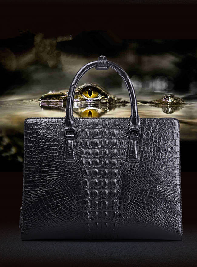 Alligator Bag and Crocodile Bag for Men