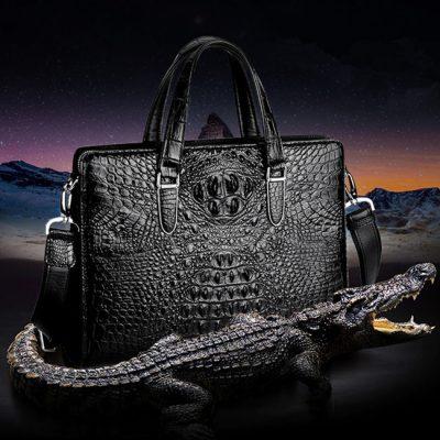 Alligator Briefcase and Crocodile Briefcase