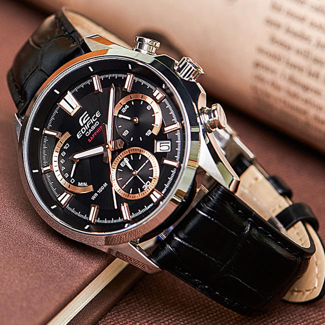 Alligator Leather Watch Bands for Casio