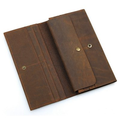 Crazy Horse Leather Wallet-1
