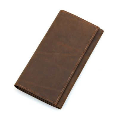 Crazy Horse Leather Wallet, Cowhide Wallet for Men