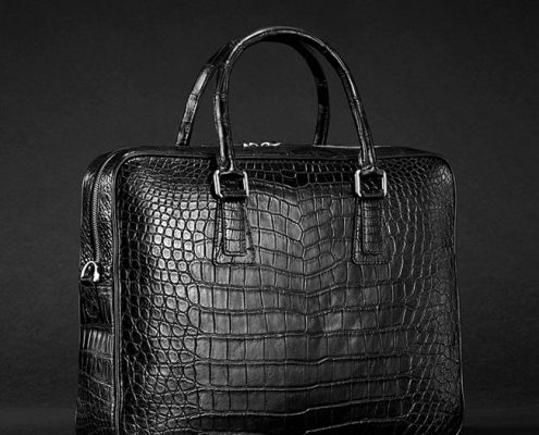 Crocodile Briefcase-Gifts for Men
