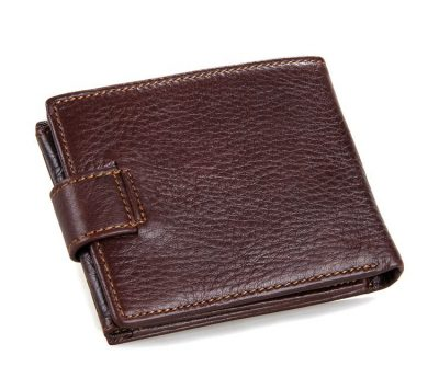 Genuine Leather Wallet Card Holder-Back
