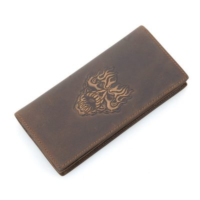 Mens Personalized Leather Wallet