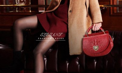 Red Crocodile Purses and Alligator Purses for Women