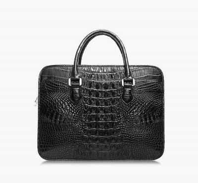 crocodile leather briefcase for men