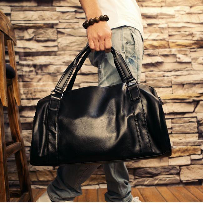 Elegant Leather Gym Bags