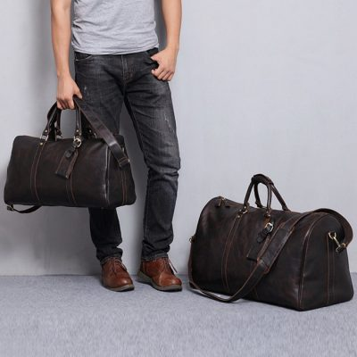 Leather Duffel Bag is Suitable for Your Weekend Trips