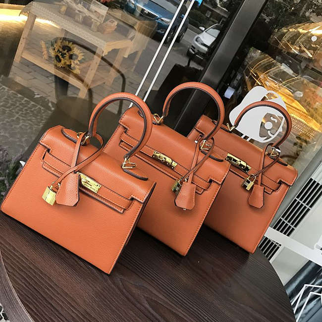 Concave Shape Handbag