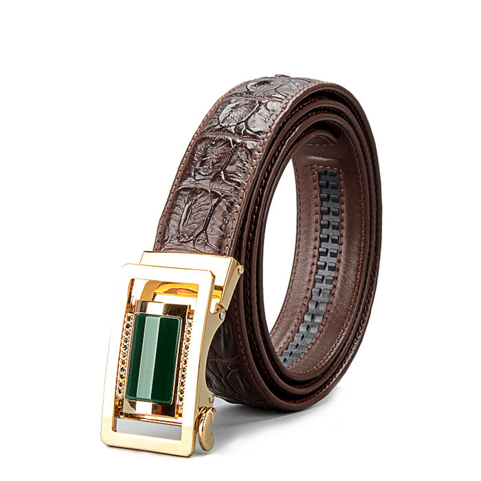 True crocodile belt