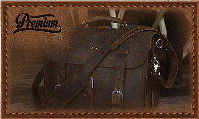 Men and Women Premium Leather Bag