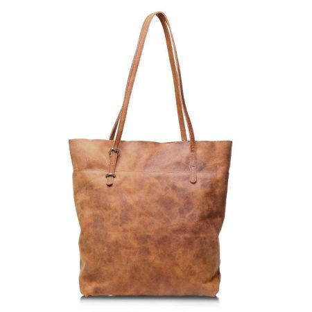 Handmade Vintage Leather Tote