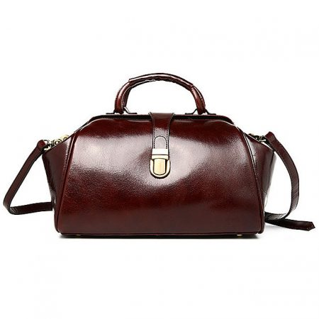 Designer Genuine Leather Handbag