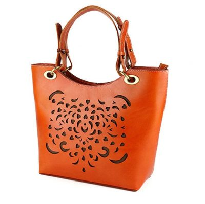 BG New Leather Handbag-Side