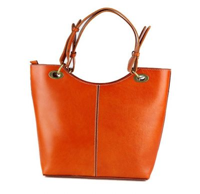 BG New Leather Handbag-back