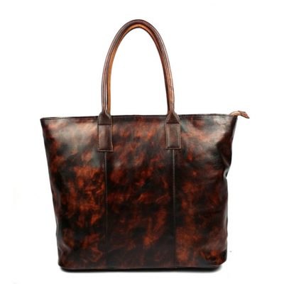 Brucegao-ZYZ-Leather Tote Bag