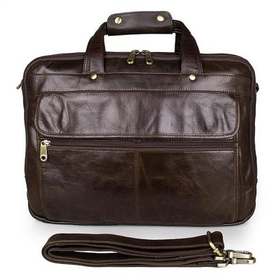 Business Leather Laptop Bag