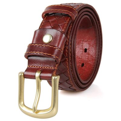 Durable Men's Leather Belt
