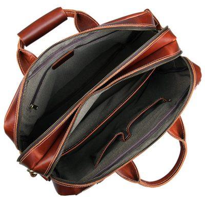 Large Capacity Messenger Bag-Inside