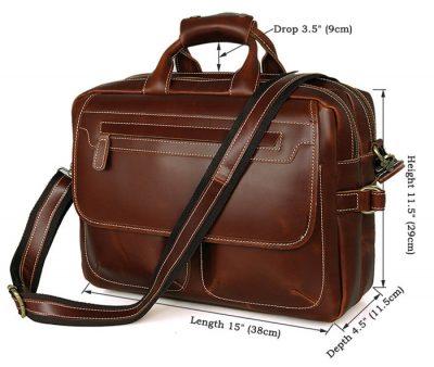Large Capacity Messenger Bag-Size