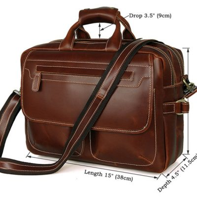 Large Capacity Messenger Bag-Size