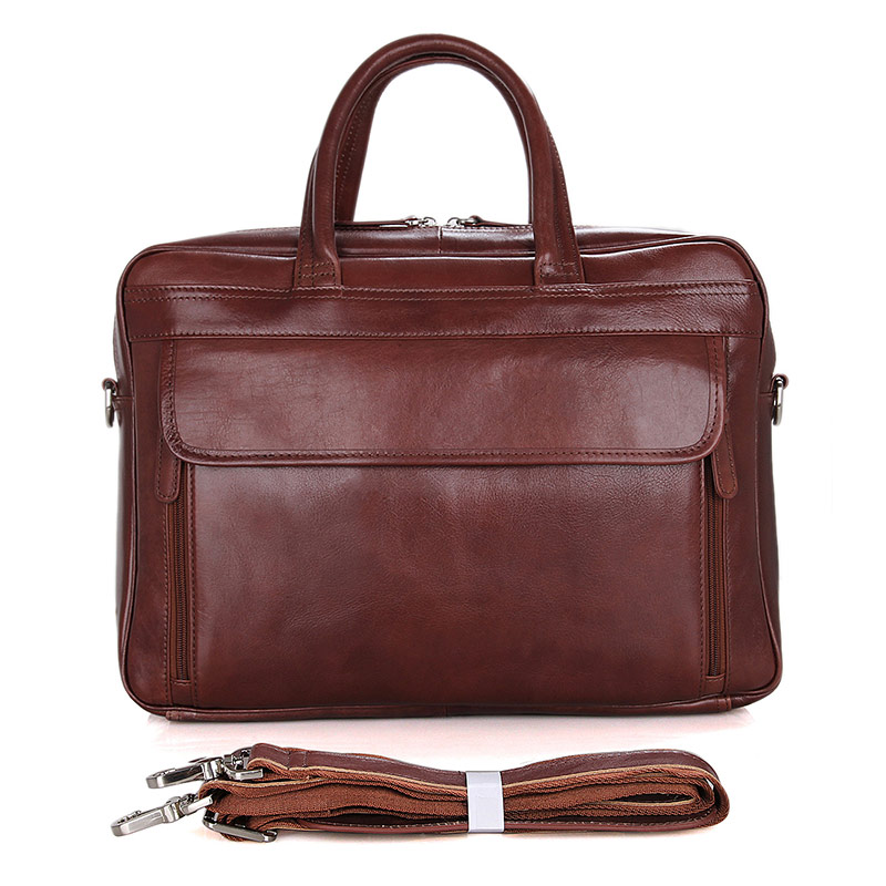 Leather Laptop Bag For Travel