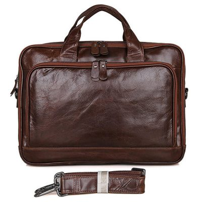 Noble Leather Laptop Bag