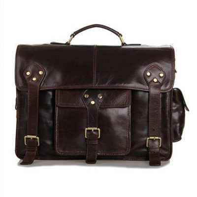 Noble Leather Messenger Bag