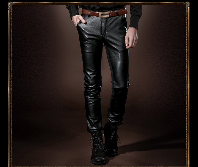 Personalized leather pants