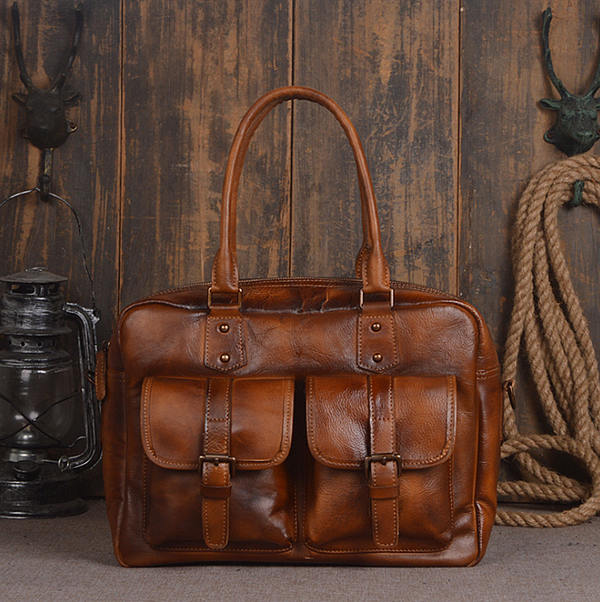 Vegetable Tanned Leather Investment Handbags